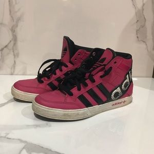 💙2for$25💙 Pink Adidas high tops